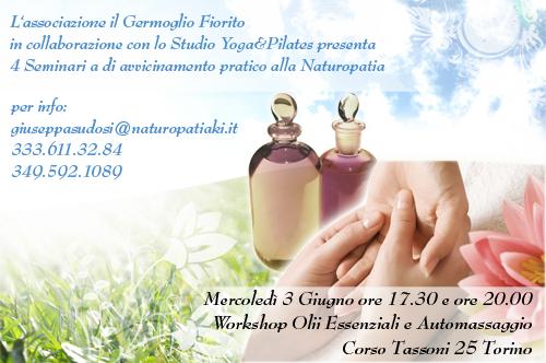 volantino seminario naturopatia