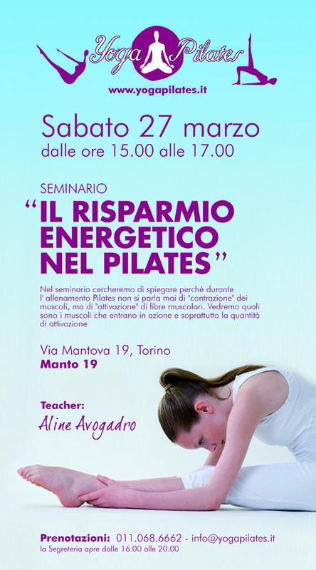 seminario pilates e risparmio energetico