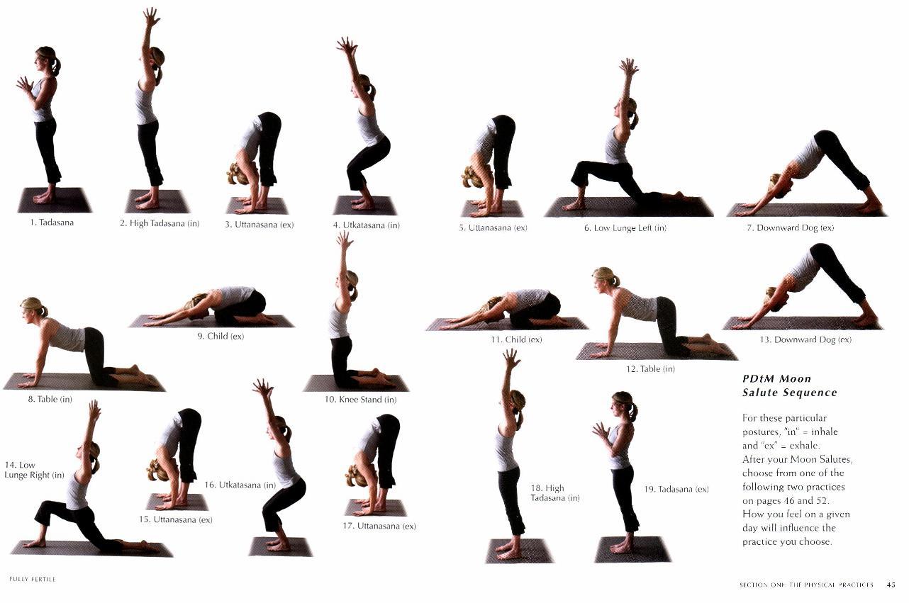 sequenza di posa yoga salute della prostata